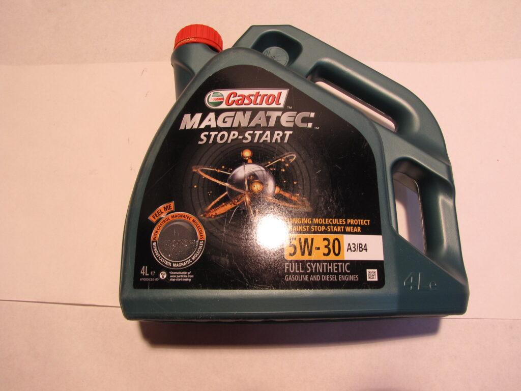 Olej Motorov 5w 30 Magnatec Stop Start A3 B4 Vw 502 00 505 Castrol 4l 14835