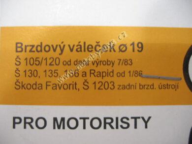 Sada gumiček 1002 ŠKODA ; 199010020(155)