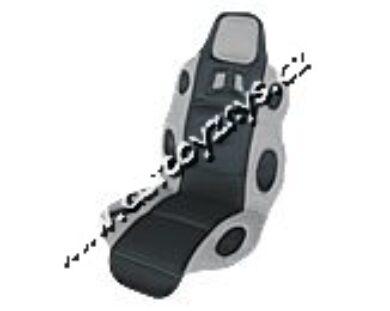 "Potah sedadla UNI ""RACING""-šedý 31650(03108)"