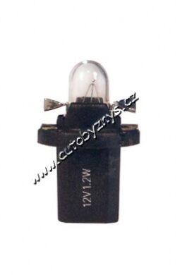 Žárovka 12V 1,2W B8,5d-AUTOLAMP(A5165V)