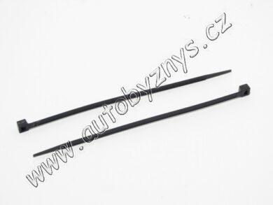 Páska vázací černá 2,5x200(8279)