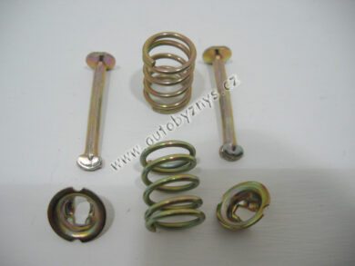 Set spare part- fixation brake jaw FAVORIT 1/93- /FELICIA  (1828)