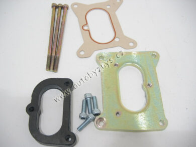 Podložka karburátoru Favorit/Felicia kov.+šrouby CN 115039690(2118)