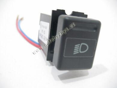 Vypínač tlumených světel FAVORIT 1/93-11/93 CZ ; 115939007(2154)
