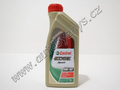 Olej motorový 0W-40 EDGE SPORT CASTROL 1L(14686)