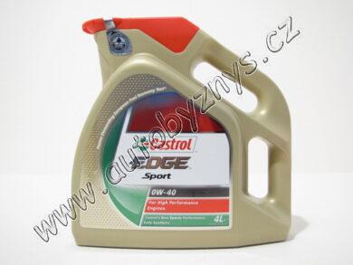 Olej motorový 0W-40 EDGE SPORT CASTROL 4L(14687)