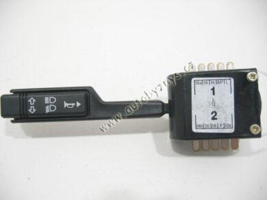 Přepínač světel Favorit 1/93- černý CN ; 115939107(2533)