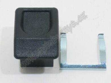 Zámek kastlíku FAVORIT černý ; 115793412(2610)