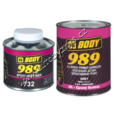 Základová epoxidová barva EPOXY PRIMER 989 - šedá - 1L(14094)