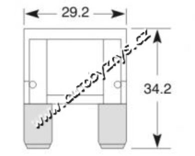 Pojistka plochá MAXI 40A(3026)