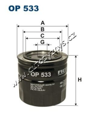 Filtr olejový Ford KAMOKA(DO223)