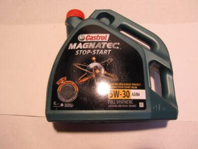 olej motorov 5w 30 magnatec stop start a3 b4 vw 502 00. Black Bedroom Furniture Sets. Home Design Ideas