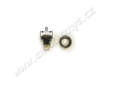 12V T3 1,2W LED čirá(15266)