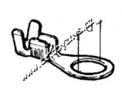 Oko kabelové prstencové 5x0,8-4(3452)