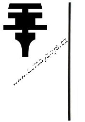 Guma stěrače 610mm 115930832(3549)
