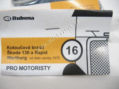 Sada gumiček 1016 ŠKODA ; 199010160(3593)
