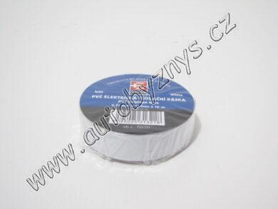 Izolační páska PVC 0,13mm 15x10m bílá(3630)