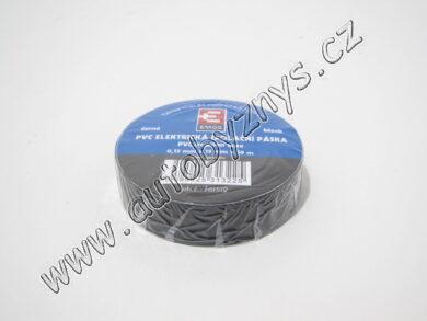 Izolační páska PVC 0,13mm 15x10m černá(3631)