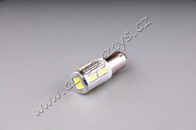 12V-24V LED 6W BaX9s čirá 10xSMD 5630(16248)