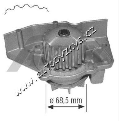 Čerpadlo vodní Citroen,Fiat,Honda,Huyndai,Lancia,Rover,Peugeot AIRTEX(AIR 1361)