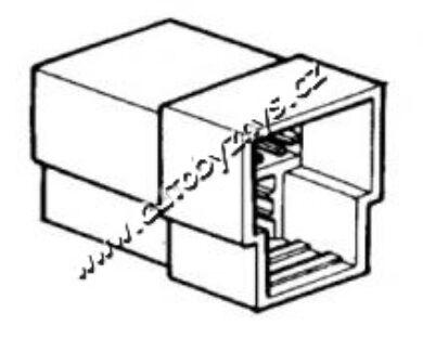Obal zástrčky s jazýčkem 6,3mm-3 póly(1141)