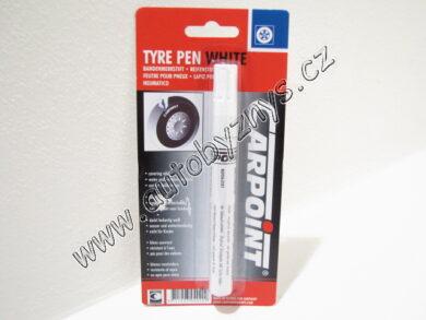 Fix na pneu popisovač-bílý(3905)