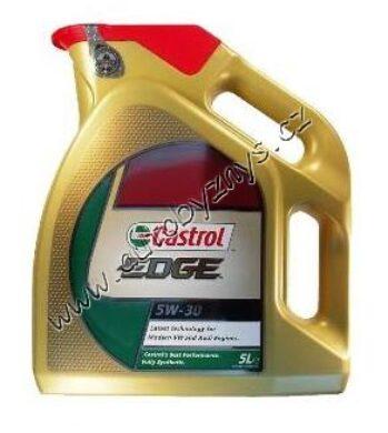 Olej motorový 5W-30 LL EDGE Titanium CASTROL 5L VW 504 00/507 00(16721)
