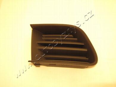 Krytka nárazníku PP Octavia2 RS original 1Z0853666A9B9(16806)