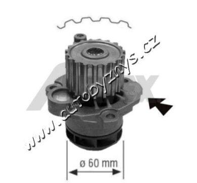 Čerpadlo vodní Fabia 1.9SDI,Seat,VW 045121011C(16851)