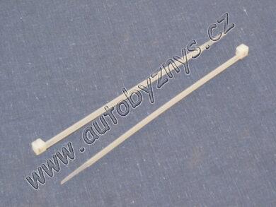 Páska vázací bílá 2,5x100(4052)