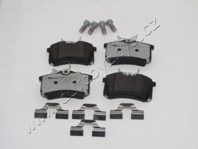 Destičky brzdové zadní Octavia/Fabia/Fabia2/Roomster  MEYLE PD ; 1J0698451P(16946)