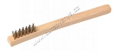 Pomosazný kartáč malý,dřevo(22078)