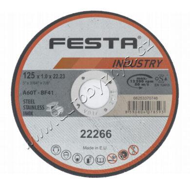 Kot.řezný kov 115x1.6x22.2 FESTA INDUSTR(22263)