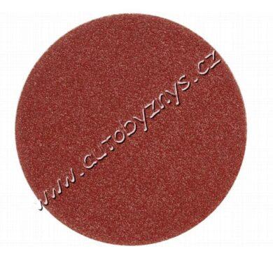 Brusný papír 125 mm P80 5 ks suchý zip(TO-08558)