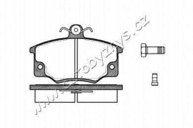 Brzdové destičky přední REMSA 0146.44-Allfa Romeo,Fiat,Lancia(RE 14644)