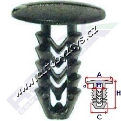 Příchytka čalounění Fiat ROMIX 10050(17113)