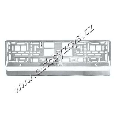 Podložka pod SPZ CHROM metallic(91560)