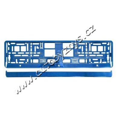 Podložka pod SPZ BLUE metallic(91563)