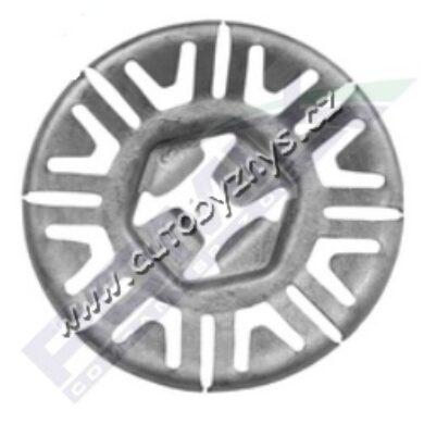 Podložka vějířová Octavia/Fabia/Superb/Roomster PL ; N90796502(17249)