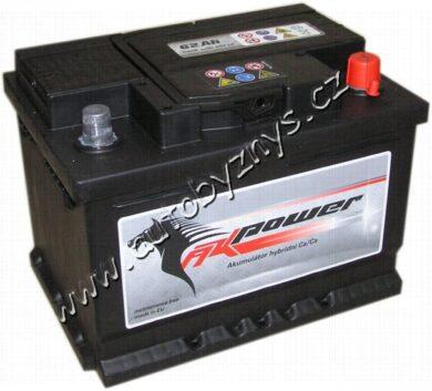 Autobaterie 12V/56Ah 480A AK power(17339)