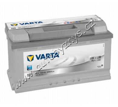 Autobaterie 12V/100Ah 830A VARTA Silver dynamic(17365)