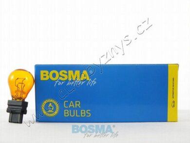12V 27/7W W2,5x16q oranžová BOSMA(17465)