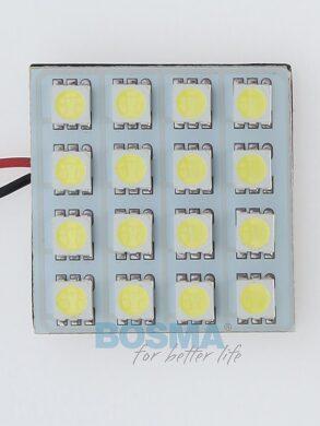 12V LED panel 35x35 16xLED SMD 5050 bílý BOSMA(LED3390)
