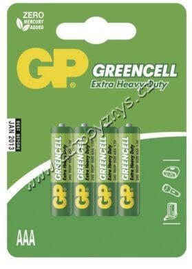 GP Zinkochloridová baterie GP Greencell R03(AAA),blistr 4ks(17633)