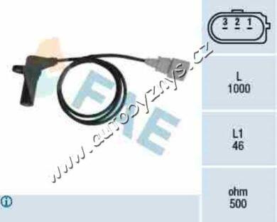 Snímač otáček klikové hřídele Superb 02-08 1.9/2.0TDI FAE 038907319E(17679)