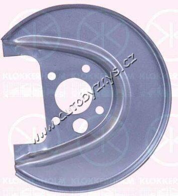 Plech krycí zadní kotoučové brzdy pravý FABIA/OCTAVIA/ROOMSTER EU; 1J0615612(17684)