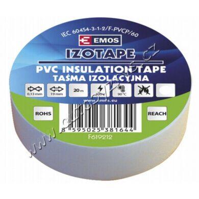EMOS Izolační páska PVC 19mm / 20m bílá(17766)