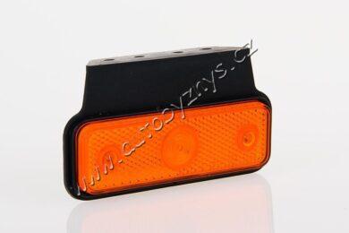 Lampa poziční LED oranžová s držákem FRISTOM FT-004(17908)