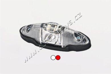 Lampa poziční LED bílo/červená FRISTOM FT-038(17923)