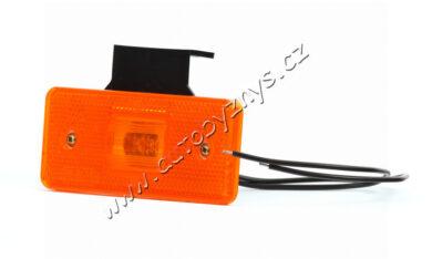 Lampa poziční LED oranžová s držákem WAS 101Z(17925)